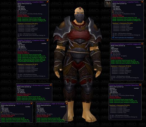 rogue gear wotlk mmo champion wow hit mmoc september 2008 sets s5 rating