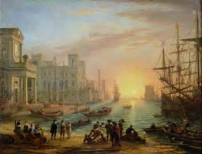 La Vie Antérieure Baudelaire by File Sea Port At Sunset 1639 Xx Claude Lorrain Jpg