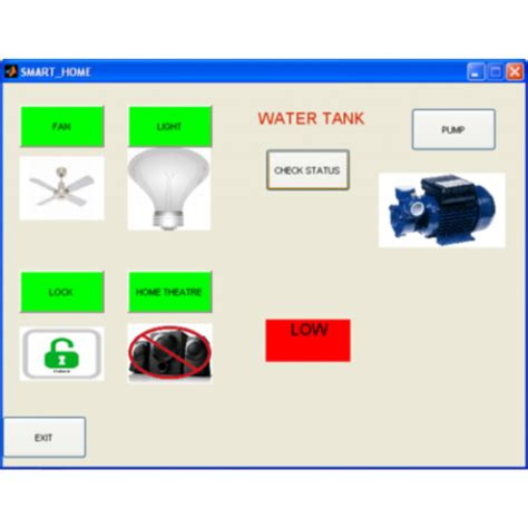 smart home controllers smart home matlab gui