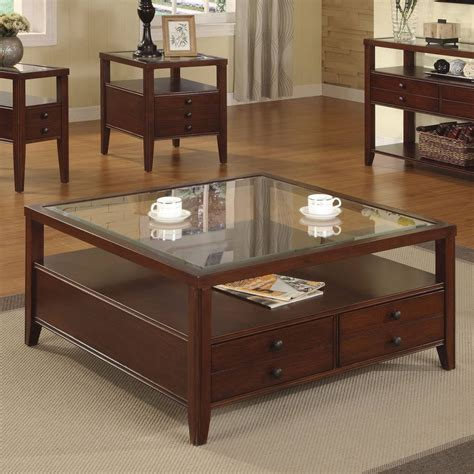 1,690 on top brands at best prices. 2019 Popular Dark Wood Coffee Tables With Glass Top