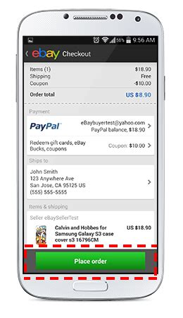 ebay mobile coupons ebay how to redeem your mobile coupon via the ebay app