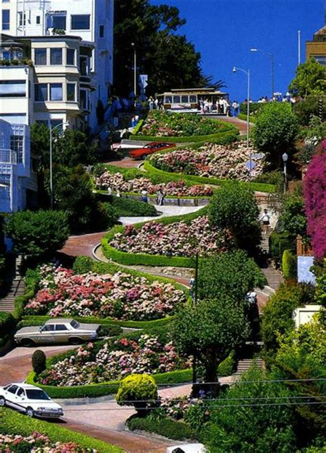 Lombard Street  World's Most Bendy Road?