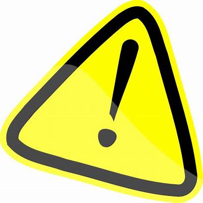 Sign Caution Clip Cliparts Warning Clipart