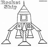 Rocket Coloring Pages Moon Colorings sketch template