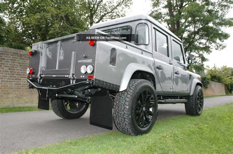 custom land rover 1985 restoration land rover defender lhd custom 110 double