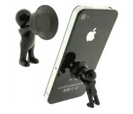 Silicone Mini Hercules Villain 3D Man Mobile Cell Phone Holder Stand Supporter for Smartphone Plunger Sucker iPhone Samsung HTC Lenovo