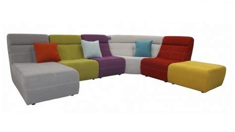 canape en angle grand canapé d 39 angle multicolore osaka revêtement tissu