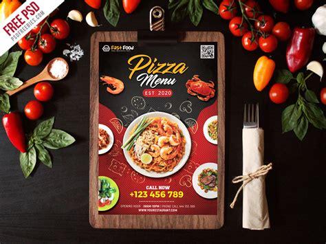restaurant food menu  psd psdfreebiescom