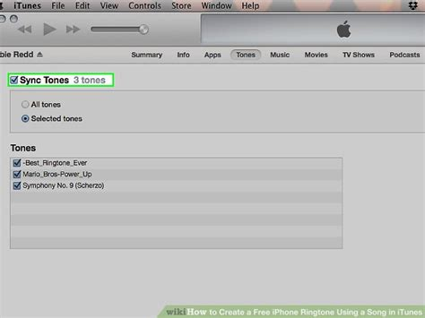 how to create iphone ringtone how to create a free iphone ringtone using a song in itunes