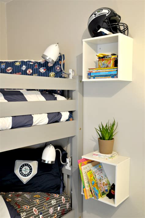 Wall Mounted Nightstand Diy by One Room Challenge Book Ledges Wall Mounted Nightstands