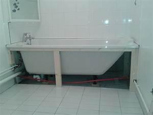 Baignoire Avec Pied : changement de baignoire desclousdescouleurs ~ Edinachiropracticcenter.com Idées de Décoration