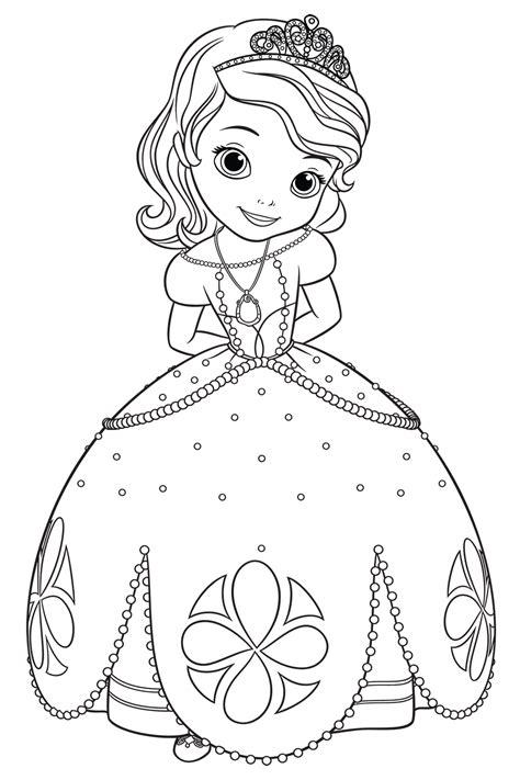 """Disegni da colorare barbie di natale coloratutto website. Disegni di """"Sofia la principessa"""" da colorare"""