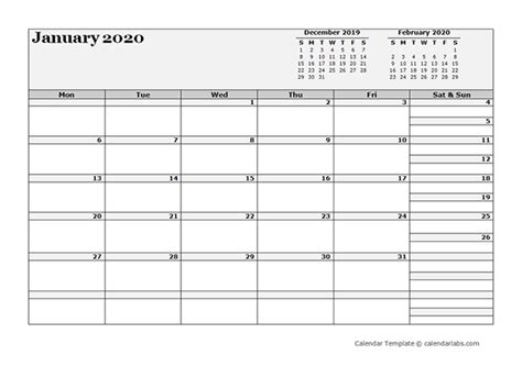 blank  month calendar  printable templates