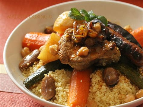 maroc cuisine traditionnel couscous à la marocaine made in cooking