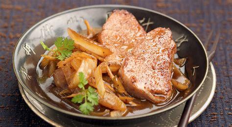 comment cuisiner le sauté de porc filet mignon de porc sauté aux oignons sublime