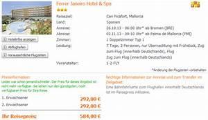 Flug Auf Rechnung : ab nach mallorca eine woche mit flug gutem hotel f r 292 ~ Themetempest.com Abrechnung