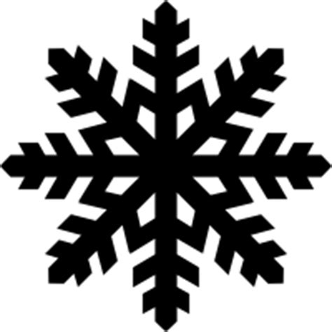 Transparent Background Snowflake Silhouette Snowflake Clip by Snowflake Vector Png Clipart Best