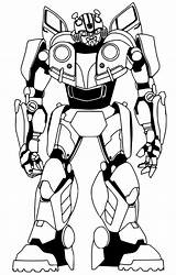 Bumblebee Coloring Pages Movie Transformer Transformers Prime Optimus Bee Printable Sheets Drawing Print Outline Bestcoloringpagesforkids Mode sketch template