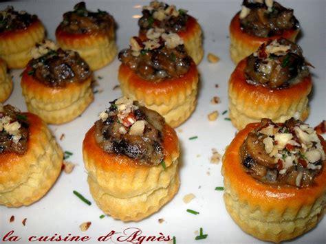cuisine recette rapide petites bouchées gorgonzola chignons de noisettes