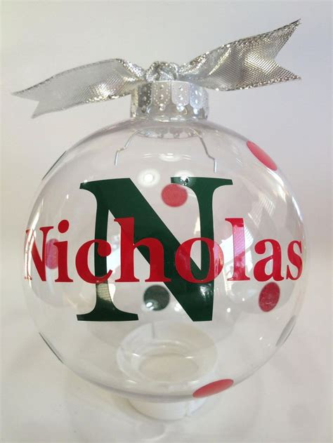 custom personalized christmas ornament 3 inch