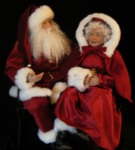 1000 images about mr and mrs santa claus on