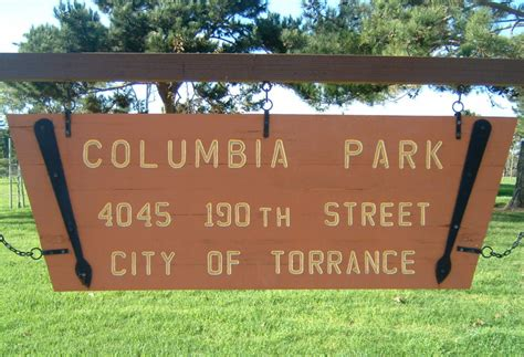 Columbia Park, Torrance, California - Wikipedia