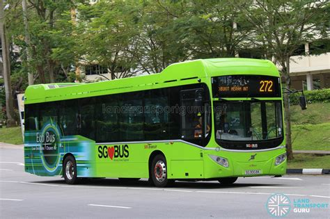 Hybrid Buses In Singapore