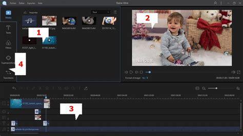 logiciel de montage video simple  facile assembler vos
