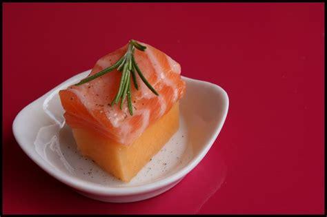 cuisine pavé de saumon fruit vedette sushis melon saumon pour lavande les