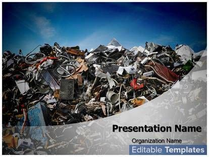 solid waste disposal design template  solid waste
