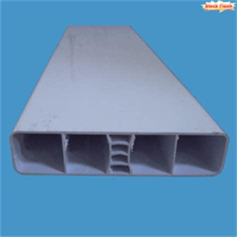 aluminium rectangulaire section 50 x 30 pour cadre de portail