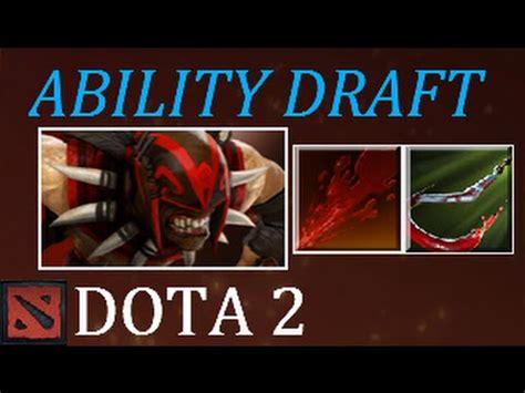 dota  rupture hook ability draft youtube