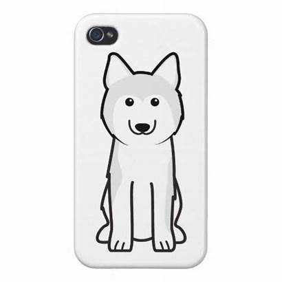 Husky Cartoon Siberian Dog Iphone Zazzle