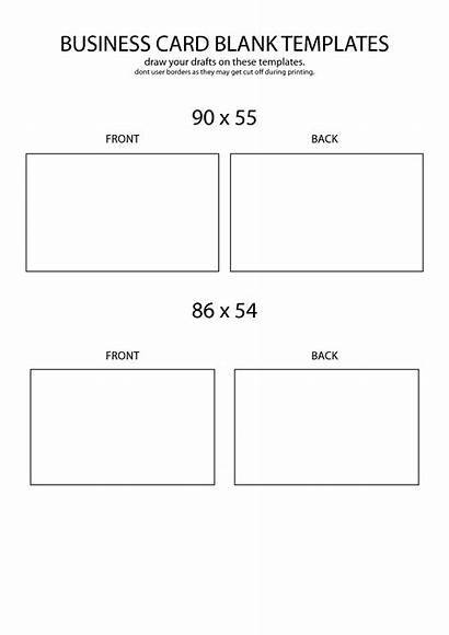 Blank Card Business Template Printable Templates Avery