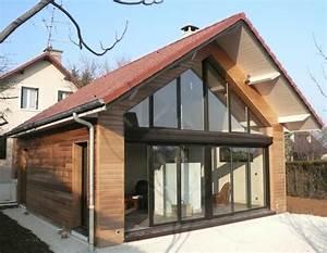 Extension Ossature Bois : sacet constructeur en bourgogne de maisons ossatures bois ~ Melissatoandfro.com Idées de Décoration