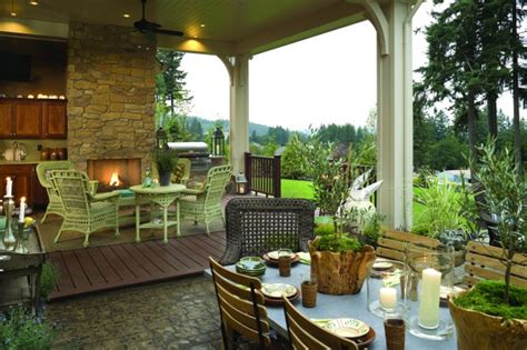 french country elegance traditional porch portland