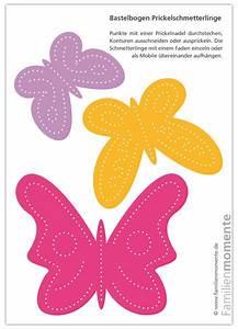 Schmetterlinge Basteln Zum Aufhängen : schmetterlinge mobile pink orange lila bastelbogen zum ~ Watch28wear.com Haus und Dekorationen