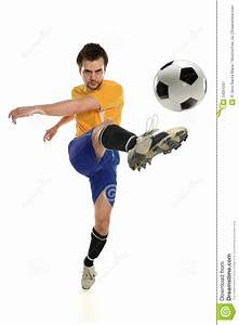 Soccer Player Kicking Ball Royalty Free Stock Photography ...