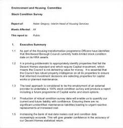 Land Survey Report Template by 10 Survey Report Templates Free Sle Exle Format