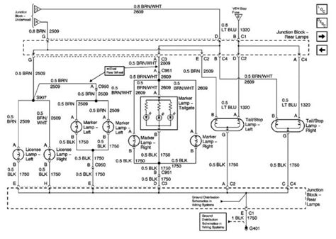 Tail Light Wiring Diagram The Present Chevrolet