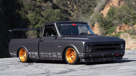 chevy c10 r race truck american muscle power