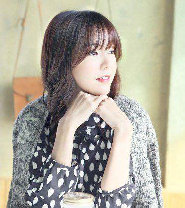 cut   korean   bangs