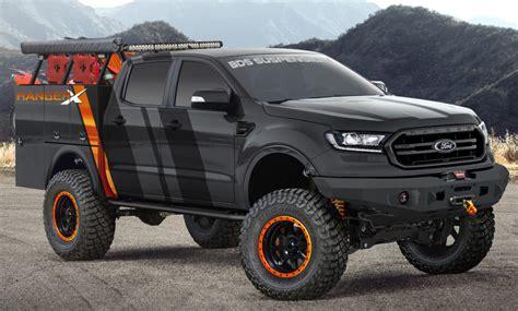 revealed   ford ranger sema build  ford