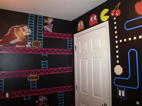 Gamer Bathroom Is Flush With Pixel Art