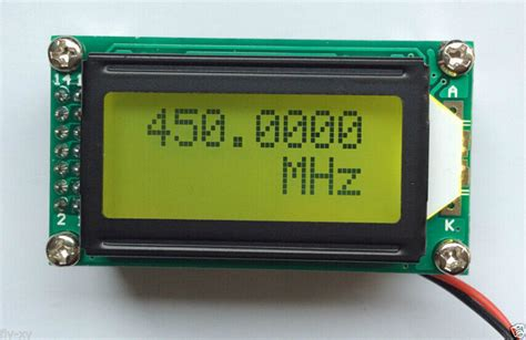 Mhz Ghz Frequency Counter Tester Digital Led