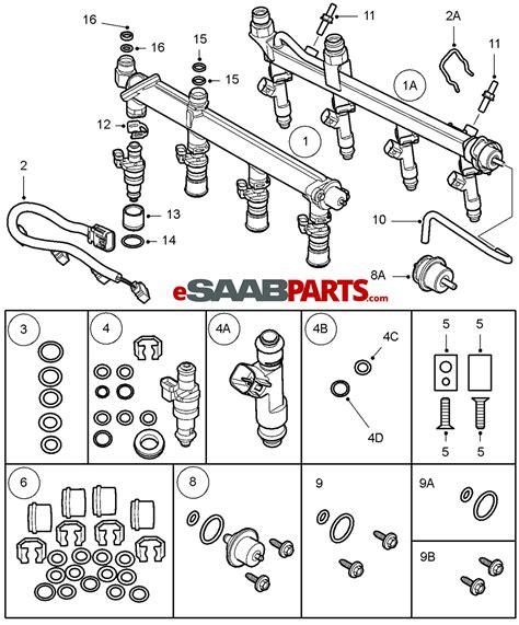Saab Fuel Diagram by 55559397 Saab Fuel Injector 2 0t 2007 2011 B207r