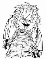 Pennywise Coloring Pages Clown Printable Print Getcolorings sketch template