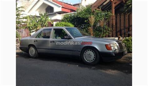 Modifikasi Mercedes E Class by Jual Mercy Boxer W124 230e Silver 1990 Manual List Becak