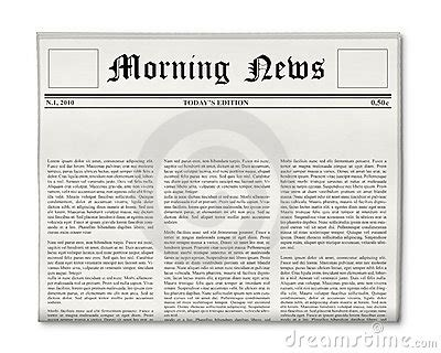 newspaper headline template newspaper headline template stock images image 16146424