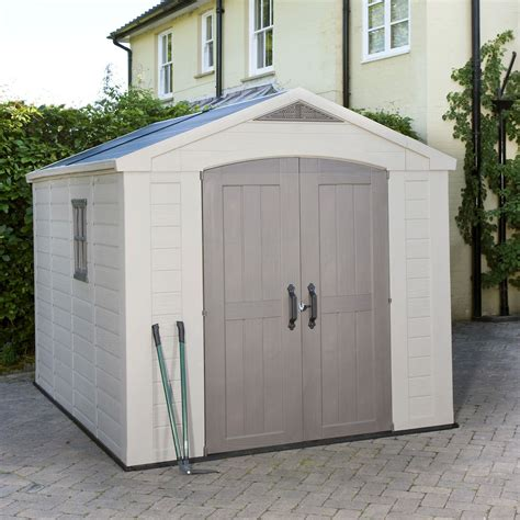 shed b and q 8x11 apex plastic shed departments diy at b q